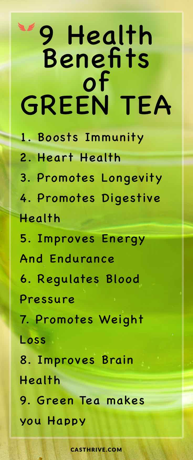 positive effects of green tea