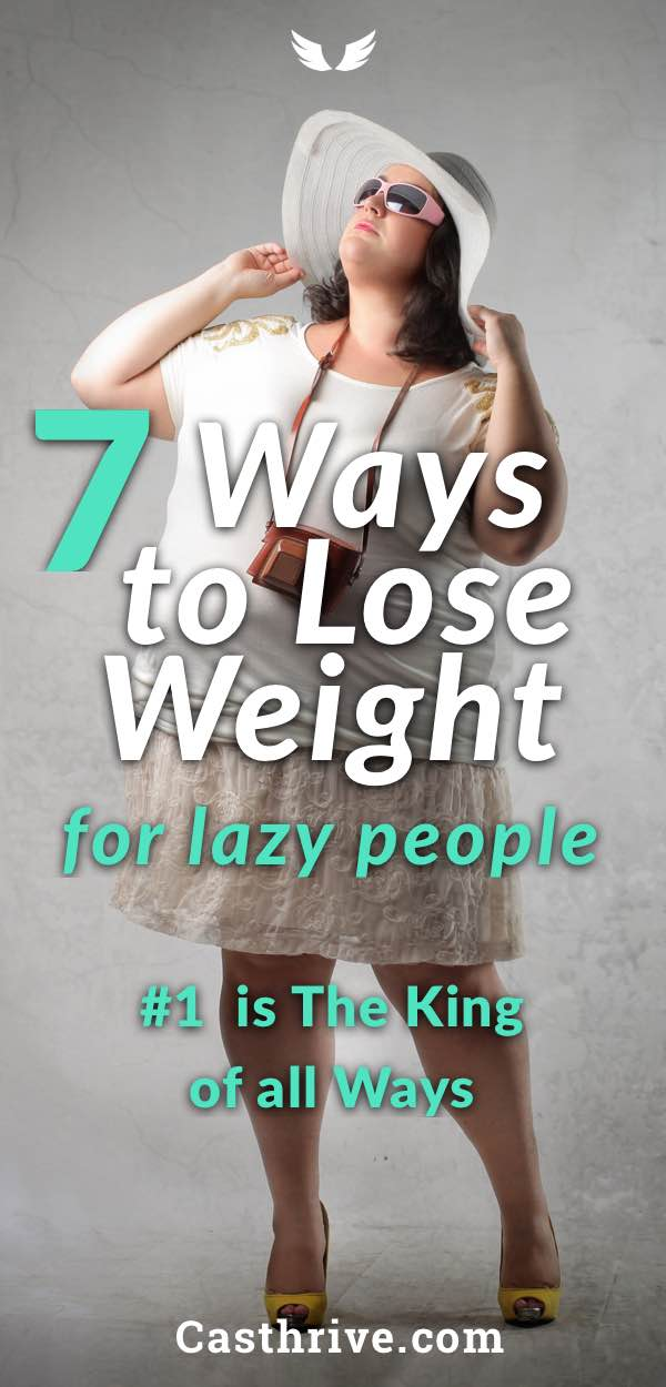 7 ways to lose weight for lazy people lazypeople7 greeng ccuart Choice Image