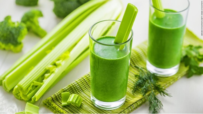 Enjoy Celery juice