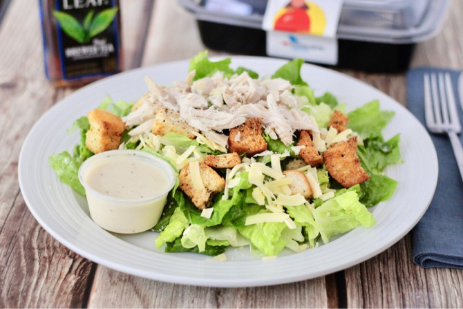 A chicken salad.